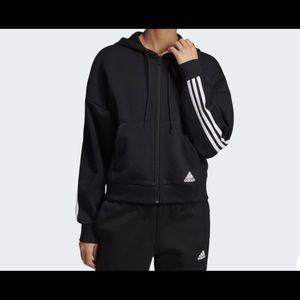 New adidas 3 stripes hoodie
